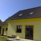 Stavebná spoločnosť QUATTRO-H - práce na fasáde rodinného domu v obci Oľdza v 2017