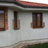 Stavebná spoločnosť QUATTRO-H - výstavba fasády rodinného domu
