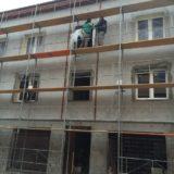 Úprava fasády - QUATTRO - H bytový dom Sofia Šamorín