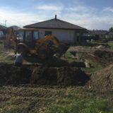 Stavebná spoločnosť QUATTRO-H - výkopové práce