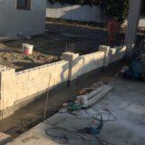 Stavebná spoločnosť QUATTRO-H - výstavba plotu